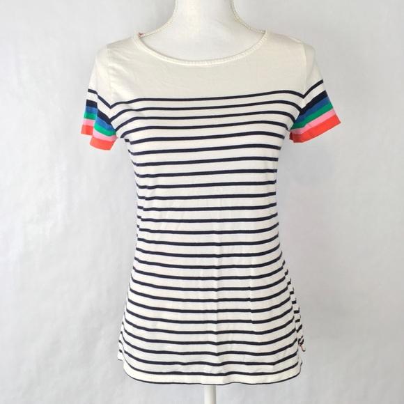 f95ab567 Boden Tops | Womens Breton Top Short Sleeve Striped | Poshmark